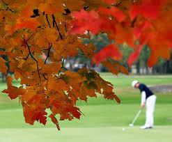 Autumn Golf image
