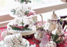 Table Coordination 1 DAY Lesson ~Christmas Tea Table