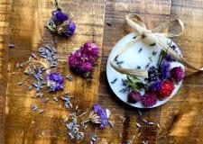アロマクラフト教室〜香りを楽しむアロマワックスサシェ