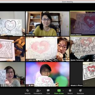 【オンライン】描いて学ぶ美術史 ~ピカソ・クリムト・へリング
